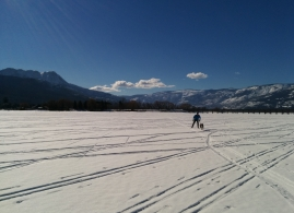 Shuswap Lake Skiing