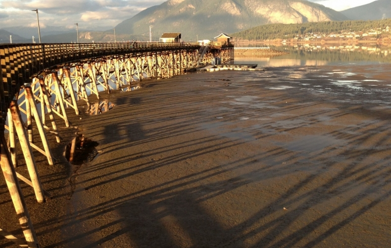 Salmon Arm Wharf & Bastion Mt
