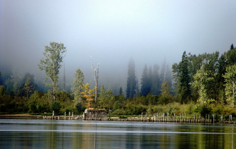 Old Trout Lake Pier