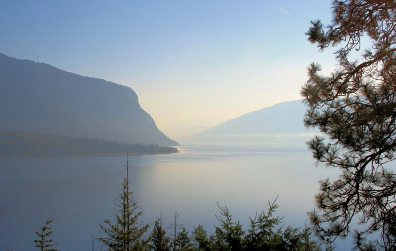 Dawn on Shuswap Lake